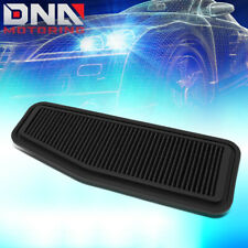 FOR 2001-2005 TOYOTA RAV4 2.0/2.4 OE FITMENT WASHABLE DROP-IN AIR FILTER BLACK