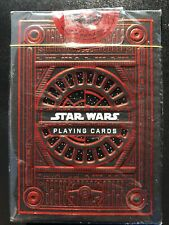 theory11 Star Wars Playing Cards - Dark Side Red