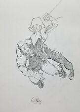 Original Comic Art Sketch Commissions
