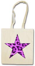 Purple Leopard per star Hipster Bag-Borsa di stoffa sacchetto stoffa-Leo Pelo Tatuaggio