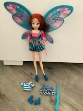 More details for winx club bloom believix doll with extra clothes / outfit and wings rare htf