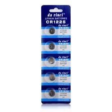 5Pcs LM1225 BR1225 ECR1225 KCR1225 CR1225 3V Button Coin Cell Battery Bulk Lots