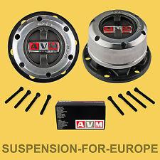 AVM Kit Mozzi Ruota Libera manuali per Nissan Pick-Up D21 e D22 (6 fori,28 cave)