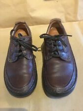 CLARKS Active air Mens shoes Size 7 G - Retro  Leather Brown - RARE