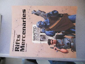 Rifts mercenaries # 813
