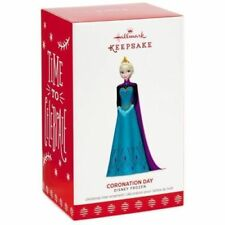 Hallmark Keepsake 2017 Coronation Day  Elsa  Frozen Christmas Ornament  NewInBox