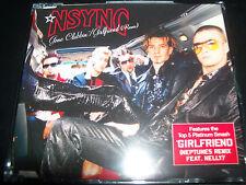 NSYNC (Justin Timberlake) Gone Clubbin / Girfriend Remix Australian CD Single
