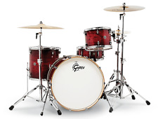 Gretsch Catalina Club Rock 4 Piece Drum Set - Gloss Crimson Burst