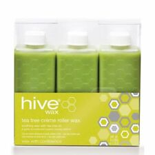 HIVE Wax Tea Tree Creme Roller Wax Cartridge -  Hair Removal - 6 x 80g