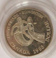 Silbermünze - Canada  Kanada - 1 Silberdollar Universiade in Edmonton 1983 - A12