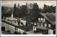 Schmiedefeld Kr. Ilmenau DDR AK 1960 Georg Schumann Platz mit Brunnen Film Bühne