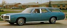 1969 Pontiac Tempest Custom S Station Factory Photo J5186