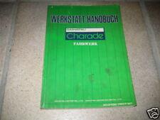 Werkstatthandbuch Daihatsu Charade, ab Bj. 1980