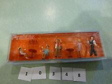 Preiser Ho #10348 People Working - Pantomime In Cafe