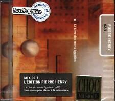 Pierre Henry - Le Livre Des Morts Egyptien 0.23 CD NEW