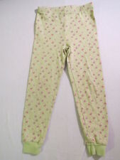 Gymboree Butterfly Flower Green Knit Gymmie Jammie Pajama Pants, 6