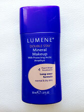 Lumene Double Stay Mineral Makeup for normal to dry skin 4 peach beige /30ml
