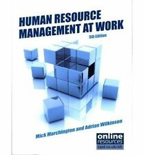 Human Resource Management at Work-ExLibrary