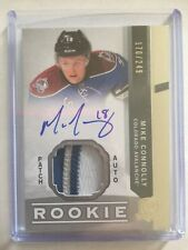 2012-13 The Cup Mike Connolly Auto Patch /249 4 Colors Rookie Upper Deck 12/13
