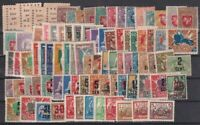 Lithuania 1919-1923 Selection of 87 Unused stamps
