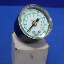 Numatics 0-160Psi, 0-11Bar Pressure Gauge 214-103 *Pzf*
