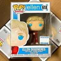 "Funko Pop Television : Holiday Ellen Degeneres #618 Vinyl Figure ""MINT"""