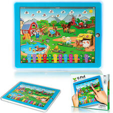 Y-pad Farm Learning Education Machine Tablet Toy for Children Blue Wholesale NEW