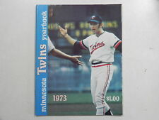 1973 Minnesota Twins OFFICIAL BASEBALL YEARBOOK