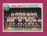 1978-79 TOPPS # 201 ISLANDERS MIKE BOSSY TEAM CHECKLIST ROOKIE NRMT+ (INV#5633)