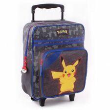 Trolley Rucksack für Kinder | Pokemon | 35 x 28 x 15 cm | Pika Pika | grau
