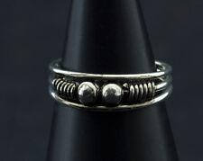 Bague de pied -bijoux d' orteil ethnika Disha ajustable en metal blanc  W94 281