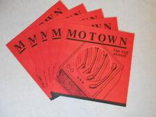 5 Motown Firmen Cover- Neu Reprint