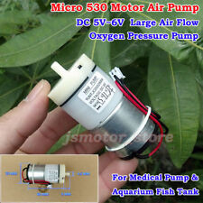 DC 5V-6V Large Flow Mini 530 Air Pump Oxygen Pump for Medical Aquarium Fish Tank