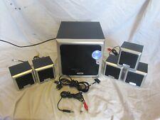 Technika 5.1 Ch Home Cinema kit con accesorios para iPod & Computadora