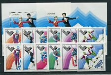 Ungarn 3390/95 Block 140 je A + B postfrisch / Olympiade .................1/1029