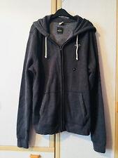 Hollister Mens Dark Grey Zipped Hoodie Size XL BNWT