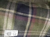 2mt Scottish wool tartan  fabric material for coats and suits 150cm wide