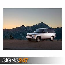 RANGE ROVER CAR 9 (AC759) CAR POSTER - Photo Picture Poster Print Art A0 to A4
