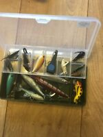 Job Lot Of Mixed Lures Tackle Box Spoons Spinners Diving Crank Weights 🐠🎣 13