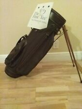 Sun Mountain Vintage Stand/Carry Golf bag with 4-way dividers (Wood Stands)