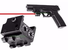 Mini Tactical Red Dot Laser Sight For Rifle Red Laser Dot Sight Scope w/ Mounts
