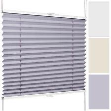 Plissee auf Maß für Fenster und Türen Jalousie Rollo Faltrollo Vorhang Faltstore