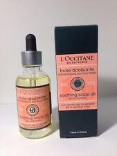 L'Occitane Soothing Scalp Oil 1.6oz/50ml Nib