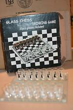 Shot Glass Chess Drinking Game 32 Pcs Glasses New Years Eve Party Holiday Gift