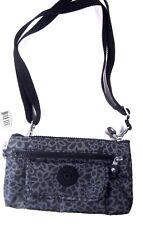 NWT Kipling AC8019 Alwyn Crossbody Bag Purse Wallet Black Flowers $59