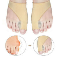 2Pcs Valgus Big Toe Bunion Straightener Splint Corrector Pain Relief Foot Care