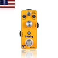 EX Trinity Distortion Micro Guitar Effects Pedal 3 Effects Mode Free US Shipping