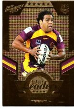 Brisbane Broncos 2012 Rugby League (NRL) Trading Cards