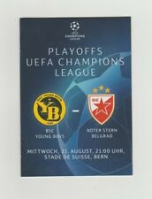 Orig.PRG  Champions League  2019/20  YOUNG BOYS BERN - RED STAR BELGRAD ! SELTEN