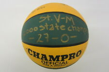 LeBron James St V St Mary HS State Champion signed TEAM basketball PAAS